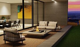 Square 22 Range - In-Situ Image by EcoSmart Fire