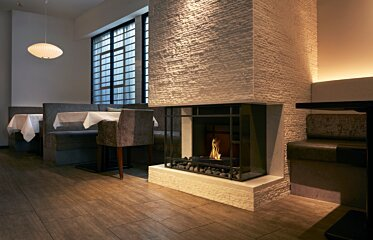 Grate 18 Fireplace Insert - In-Situ Image by EcoSmart Fire