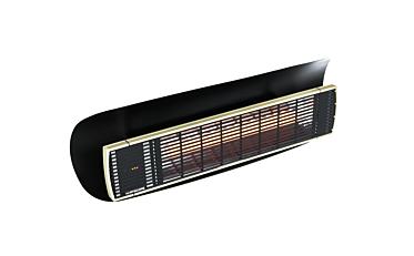 Weathershield 3 Black HEATSCOPE® Accessorie - Studio Image by Heatscope Heaters
