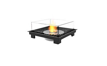 Square 22 Fireplace Insert - Studio Image by EcoSmart Fire