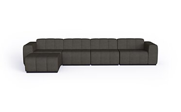 Connect Modular 5 Sofa Chaise Furniture - Studio Image by Blinde Design