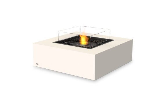 Base 40 Fire Pit - Ethanol - Black / Bone / Optional Fire Screen by EcoSmart Fire