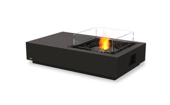 Manhattan 50 Fire Pit - Ethanol - Black / Graphite / Optional Fire Screen by EcoSmart Fire