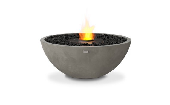 Mix 850 Fire Pit - Ethanol - Black / Natural by EcoSmart Fire