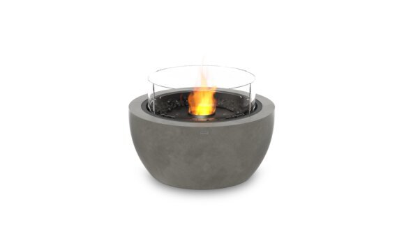 Pod 30 Fire Pit - Ethanol - Black / Natural / Optional Fire Screen by EcoSmart Fire