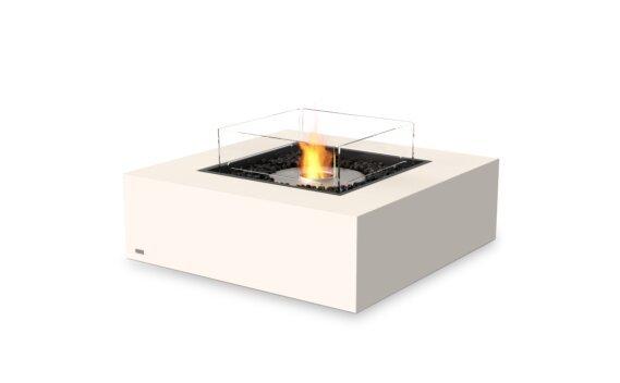 Base 40 Fire Pit - Ethanol / Bone / Optional Fire Screen by EcoSmart Fire