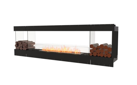 Flex 104PN.BX2 Peninsula - Ethanol / Black / Uninstalled View by EcoSmart Fire
