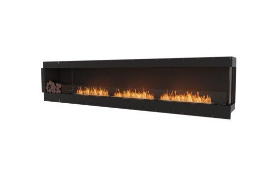 Flex 140RC.BXL Right Corner - Ethanol / Black / Uninstalled View by EcoSmart Fire