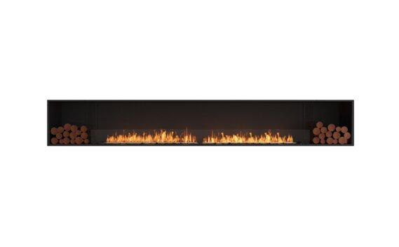 Flex 140SS.BX2 Single Sided - Ethanol / Black / Installed View by EcoSmart Fire