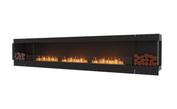Flex 158RC.BX2 Right Corner - Ethanol / Black / Uninstalled View by EcoSmart Fire