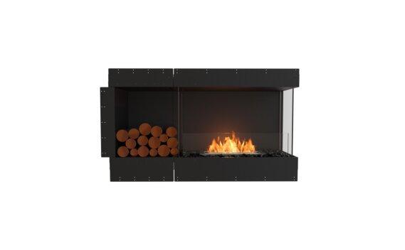 Flex 50RC.BXL Right Corner - Ethanol / Black / Uninstalled View by EcoSmart Fire