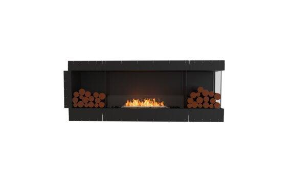 Flex 78RC.BX2 Right Corner - Ethanol / Black / Uninstalled View by EcoSmart Fire