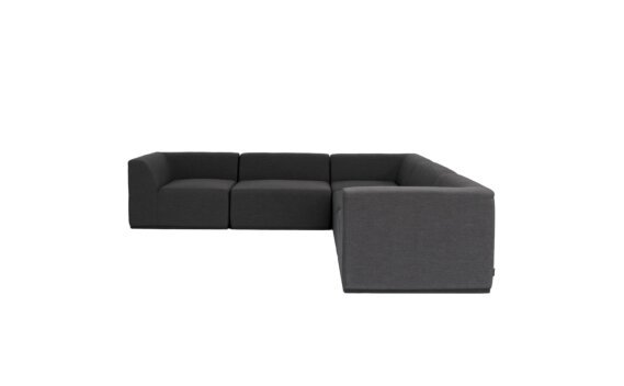 Relax Modular 5 L-Sectional Furniture - Sooty by Blinde Design