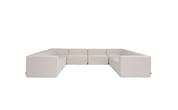 Relax Modular 8 U-Sofa Sectional Furniture - Canvas by Blinde Design