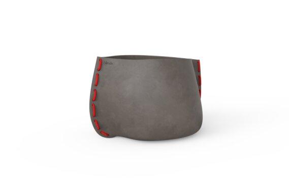 Stitch 50 Planter - Natural / Red by Blinde Design