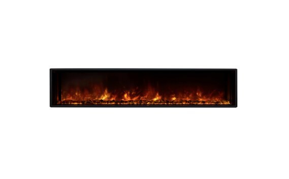 EL60 Electric Fireplace - Electric / Black by EcoSmart Fire