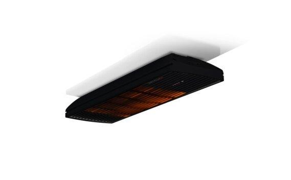 Spot 1600W Radiant Heater - Black / Black - Flame On by Heatscope Heaters