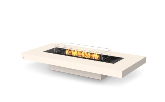 Gin 90 (Low) Fire Pit - Gas LP/NG / Bone by EcoSmart Fire