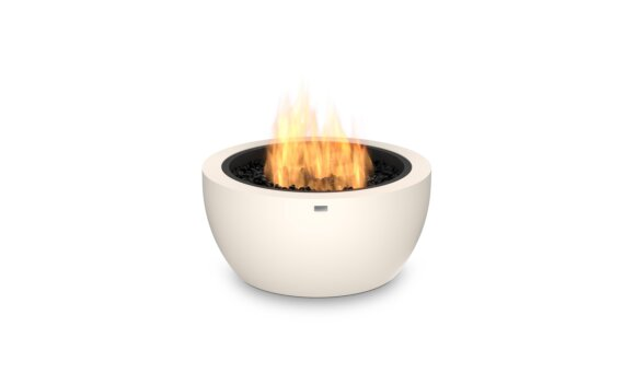Pod 30 Fire Pit - Gas LP/NG / Bone by EcoSmart Fire