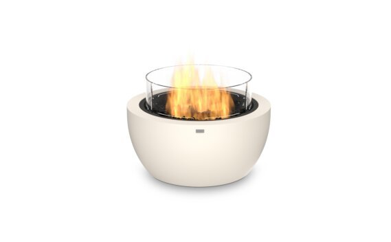 Pod 30 Fire Pit - Gas LP/NG / Bone / Optional Fire Screen by EcoSmart Fire