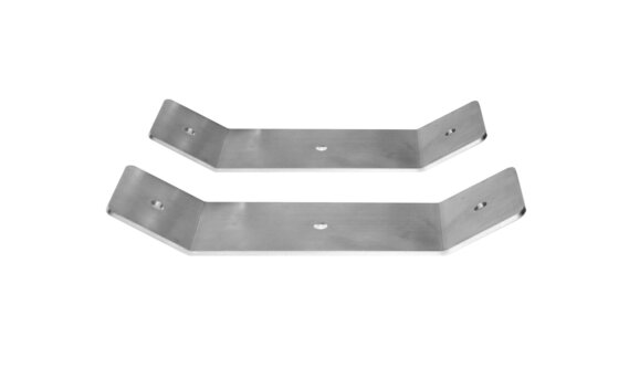 Dual Fixing Brackets HEATSCOPE® Accessorie - Stainless Steel by Heatscope Heaters