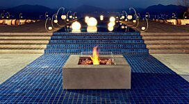Base 40 Fire Pit Table - In-Situ Image by EcoSmart Fire