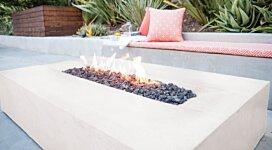 Flo Fire Pit - In-Situ Image by Brown Jordan Fires