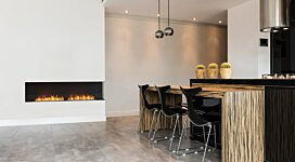 Flex 122RC.BXL Fireplace Insert - In-Situ Image by EcoSmart Fire