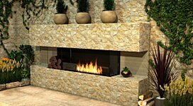 Flex 122BY Fireplace Insert - In-Situ Image by EcoSmart Fire