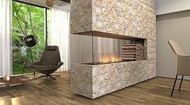 Flex 68PN.BXR Peninsula - In-Situ Image by EcoSmart Fire