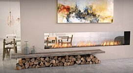 Flex 122DB Fireplace Insert - In-Situ Image by EcoSmart Fire