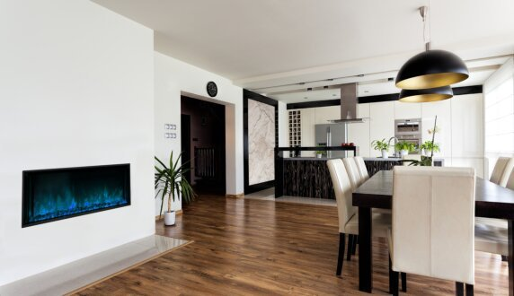 Private Residence - EL60 Electric Serie by EcoSmart Fire