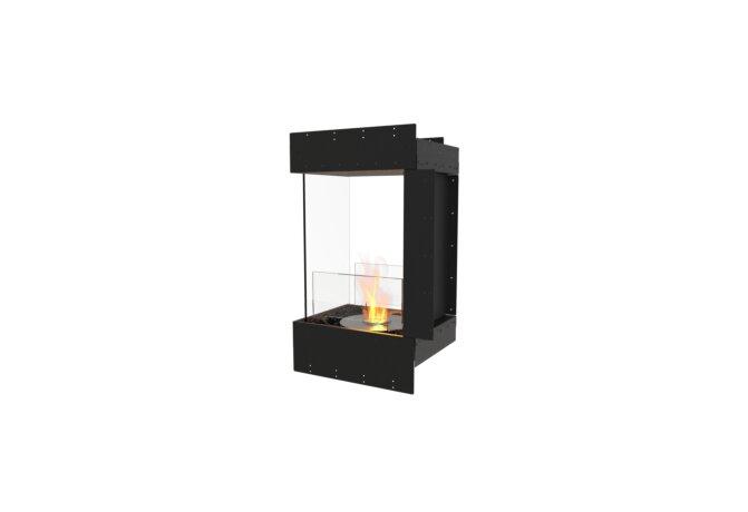 Flex 18PN Peninsula - Ethanol / Black / Uninstalled View by EcoSmart Fire