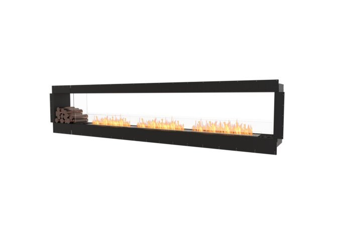 Flex 140DB.BX1 Double Sided - Ethanol / Black / Uninstalled View by EcoSmart Fire