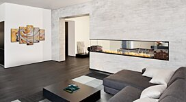Flex 104PN.BXR Fireplace Insert - In-Situ Image by EcoSmart Fire
