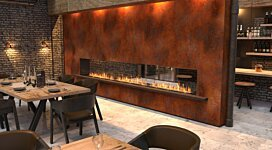 Flex 104DB.BX2 Fireplace Insert - In-Situ Image by EcoSmart Fire
