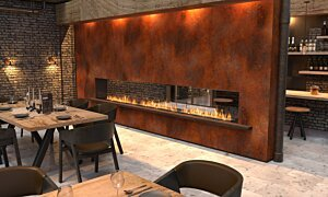 Flex 158DB Double Sided - In-Situ Image by EcoSmart Fire