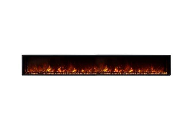 EL100 Electric Serie - Electric / Black by EcoSmart Fire