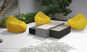 Bloc L2 Coffee Table - In-Situ Image by Blinde Design