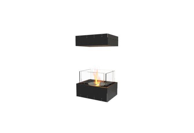 Flex 18IL Island - Ethanol / Black / Uninstalled View by EcoSmart Fire