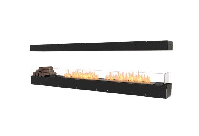 Flex 104IL.BX1 Island - Ethanol / Black / Uninstalled View by EcoSmart Fire