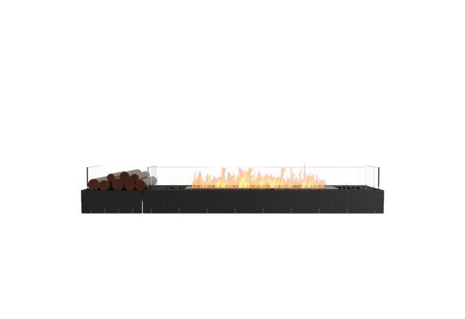 Flex 86BN.BX1 Bench - Ethanol / Black / Uninstalled View by EcoSmart Fire