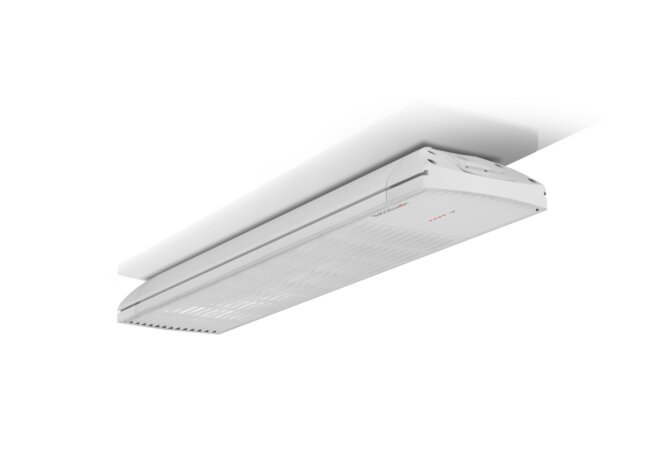 Spot 2800W Radiant Heater - White / White - Flame Off by Heatscope