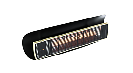 Weathershield 3 Black Heatscope Accessorie - Studio Image by Heatscope