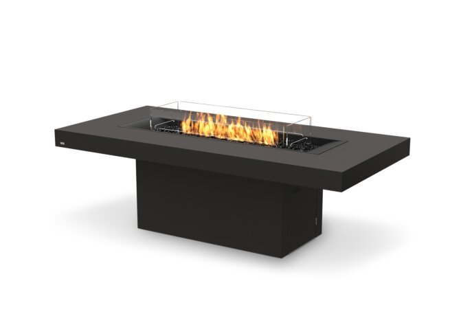 Gin 90 (Dining) Fire Pit - Gas LP/NG / Graphite by EcoSmart Fire