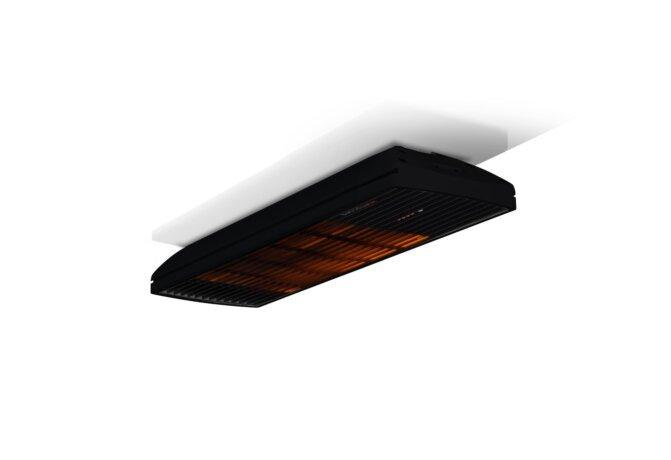 Spot 1600W Radiant Heater - Black / Black - Flame On by Heatscope
