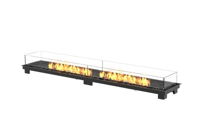 Linear 90 Fireplace Insert - Gas LP/NG / Black by EcoSmart Fire