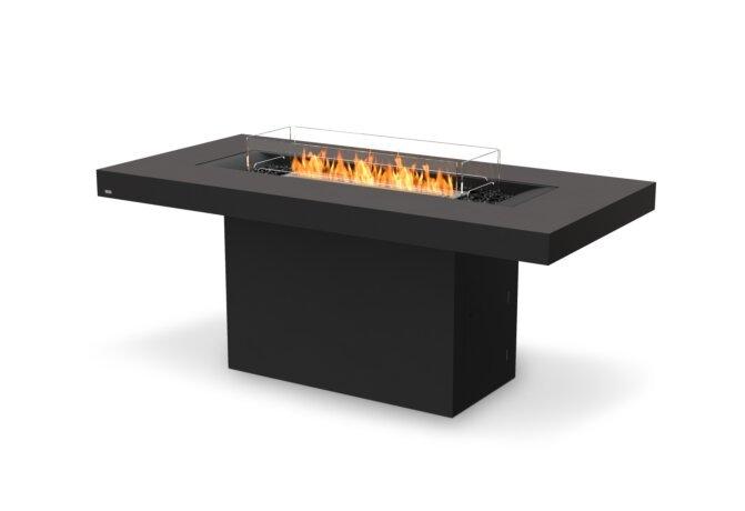 Gin 90 (Bar) Fire Pit - Ethanol / Graphite / Optional Fire Screen by EcoSmart Fire