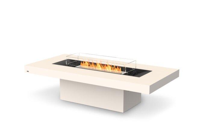 Gin 90 (Chat) Fire Pit - Ethanol / Bone / Optional Fire Screen by EcoSmart Fire