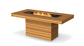 Gin 90 (Bar) Fire Pit Table - Studio Image by EcoSmart Fire